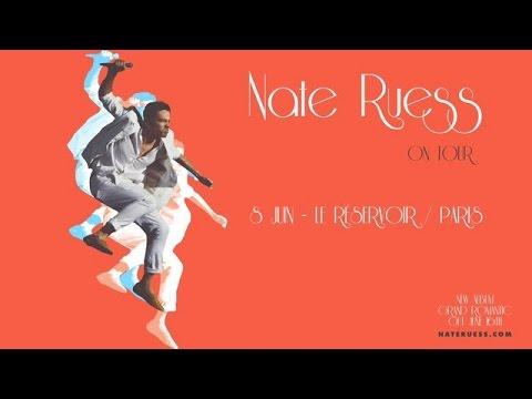 Vidéo Spot Nate Ruess en concert au Réservoir - Voix Off: Marilyn HERAUD
