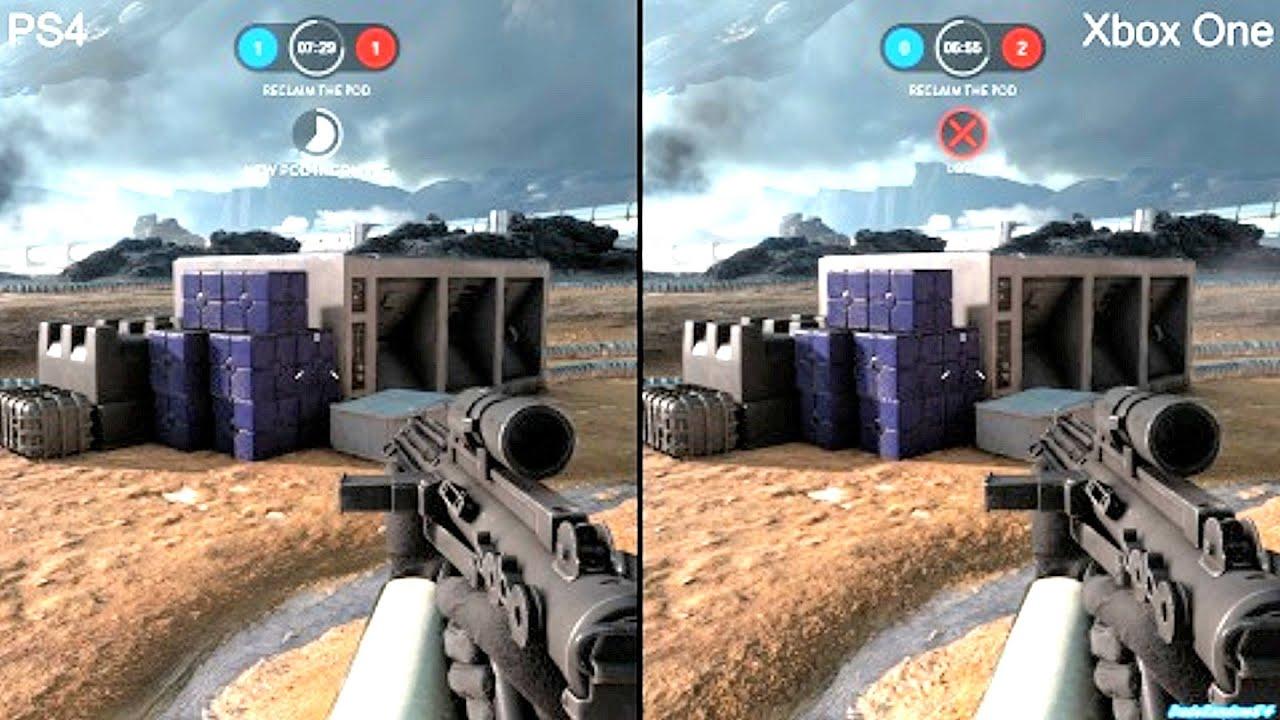 star wars battlefront beta ps4 vs xbox one graphics. Black Bedroom Furniture Sets. Home Design Ideas