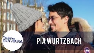 TWBA: Pia Wurtzbach answers the issue about her relationship with Marlon Stockinger