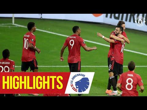 Manchester United FC Copenhagen Goals And Highlights