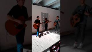 Музыканты из Караганды зажигают на Арбате в Алматы!
