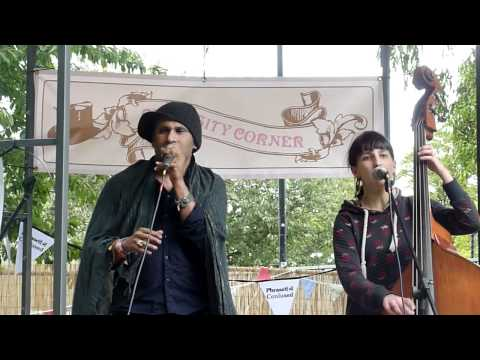 Shane Solanki and Bellatrix on Bandstand Stage at Summer Sundae 2011