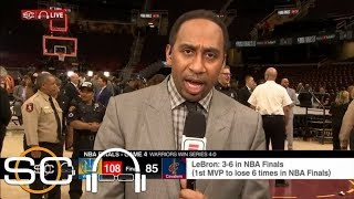 Stephen A. on LeBron James: 'He played a role in creating' long odds he faced | SC with SVP | ESPN