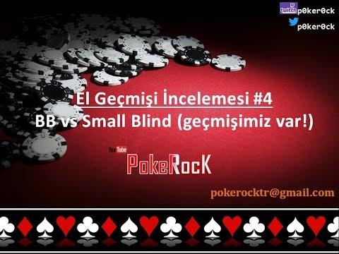 Poker El Geçmişi İncelemesi #4  - Big Blind vs Small Blind