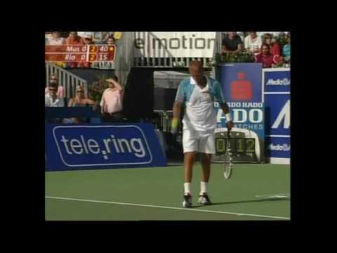 T. Muster vs M. Rios SeniosTour Graz 2006
