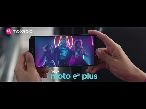 moto e5 plus | big battery. big screen. big entertainment.