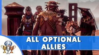 Horizon Zero Dawn - All Optional Allies Joined -How to Get All Optional Allies For Defense