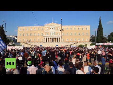 LIVE: Protesters in Athens urge 'YES' vote in July 5 referendum