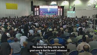 Election of Fifth Khilafa, clear testimony of Allah support
