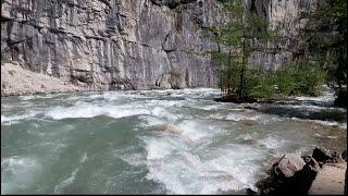 Мощь горных рек Абхазии