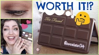 Too Faced Matte Chocolate Chip Palette | Review, Swatches, & Mini-Tutorial!