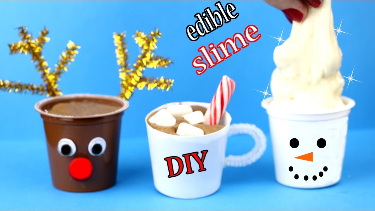 Diy Edible Slime How To Make Chocolate Slime More Easy