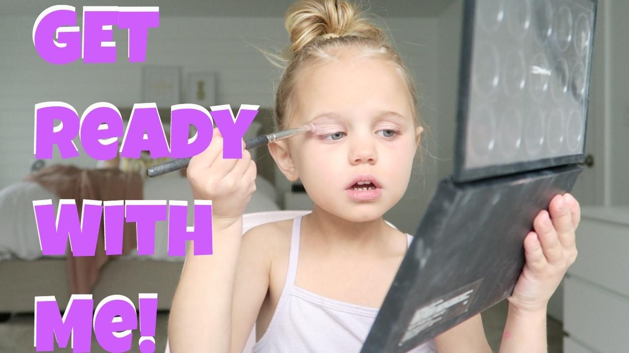 Cutest Kids Makeup Tutorial - YouTube