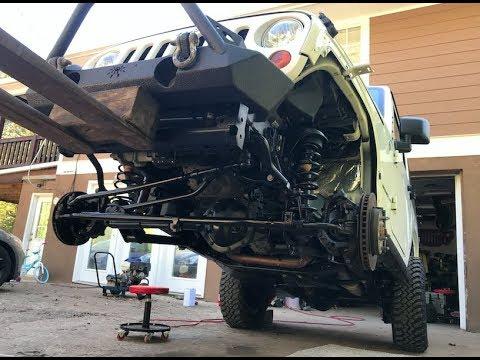 Download Rebuilding A Wrecked Car JEEP RUBICON (Part 5)