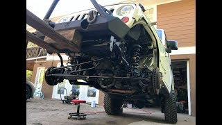 Rebuilding A Wrecked Car JEEP RUBICON (Part 5)