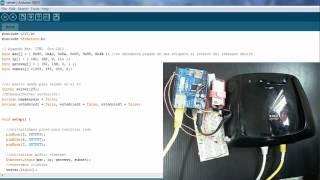 Arduino+ethernet shell+Telnet para encender leds