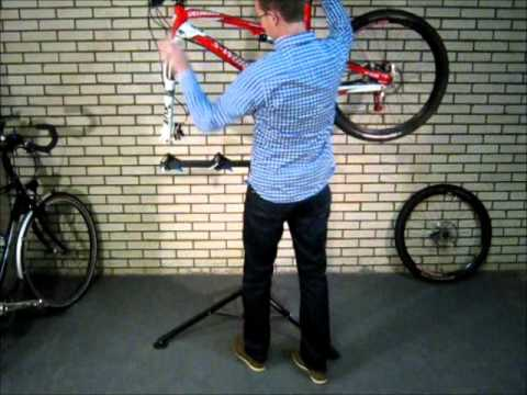 lidl fietsstandaard fietssteun voor mountainbike racefi. Black Bedroom Furniture Sets. Home Design Ideas
