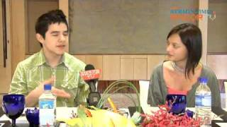 How David Archuleta stays wholesome - RAZORTV RazorPop Pt 2 of 5