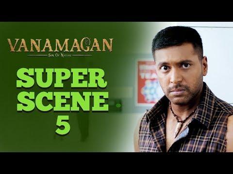 Vanamagan - Super Scene 5 | Jayam Ravi | Sayesha Saigal |  A. L. Vijay | Harris Jayaraj