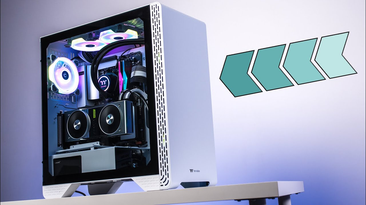 UN CASE DA 80€ PER BUILD DA 4000€! - Thermaltake S300 TG