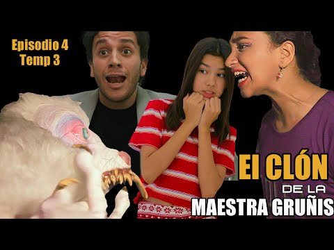 EL CLON DE LA MAESTRA GRUÑIS Temp 3 Ep 4   TV Ana Emilia
