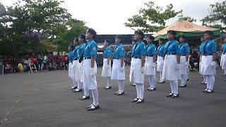 Peleton SMP 2 Semanu, Peleton Terbaik putri LBB Gunungkidul 2017 Pos 2