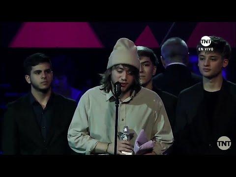 Premios Gardel - Cuando Te Bese - Becky G Ft Paulo Londra