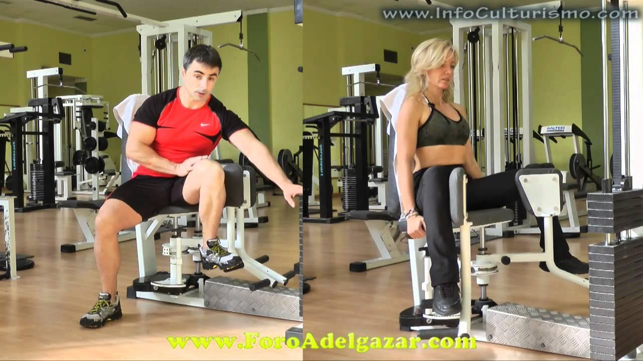 ejercicios para los aductores del muslo