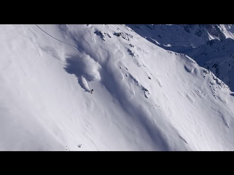 Flo Orley on how to chose a line in freeriding.