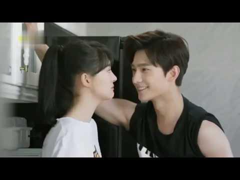 Dekho na  Lovely Hindi Song  Yang Yang kisses  Drama LOVE O2O