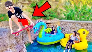 Our SUMMER Pool Party Didn't Go As EXPECTED!!