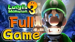 Luigi's Mansion 3 - FULL GAME | 100% Walkthrough