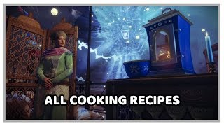 The Dawning: All Cooking Recipes - Destiny 2