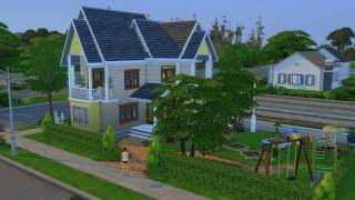 The Sims 4 : Постройка дома в Виллоу Крик