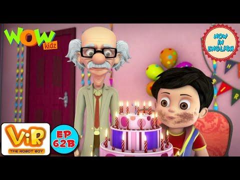 Vir: The Robot Boy - Vir ka birthday - As Seen On HungamaTV - IN ENGLISH