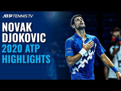 Novak Djokovic: 2020 ATP Highlight Reel!