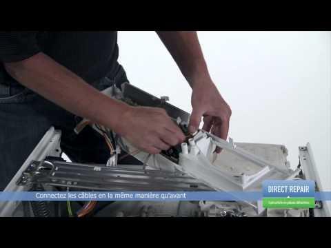 Comment tester le moteur de votre lave linge doovi - Comment tester un condensateur de machine a laver ...