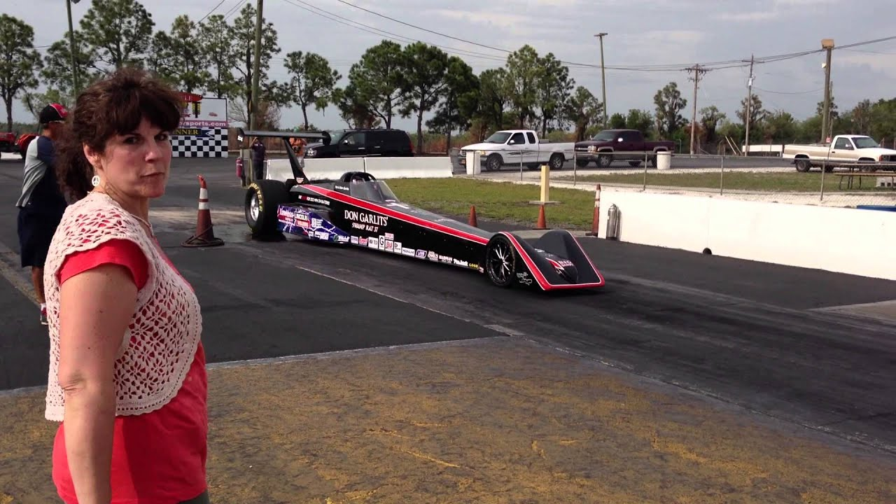 Don Garlits Electric Dragster Burn Out