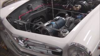 Mercedes 230SL Conversion, Behind the Scenes, Part Two