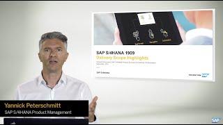 SAP S/4HANA 1909 – Release Highlights with Yannick Peterschmitt