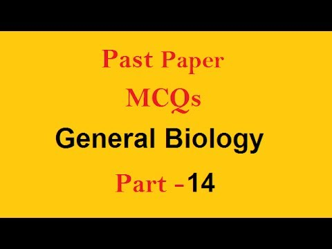 Solved Question | General Biology Past Paper MCQs Physics, PMS, CSS, PPSC,  FPSC, AD, NTS, Exams