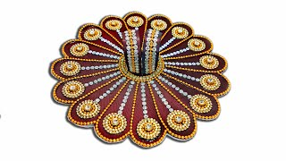 How to make heavy work dress (पोशाक) of Bal Gopal / Ladoo Gopal / Kanah ji / Krishna - Poshak making
