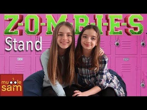 STAND Disney's ZOMBIES Meg Donnelly, Trevor Tordjman 🎵 Sophia & Bella Mugglesam