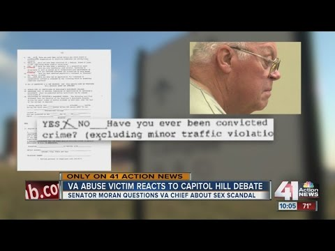 Kansas Senator Jerry Moran questions head of Veteran Affairs on Leavenworth sex abuse allegations