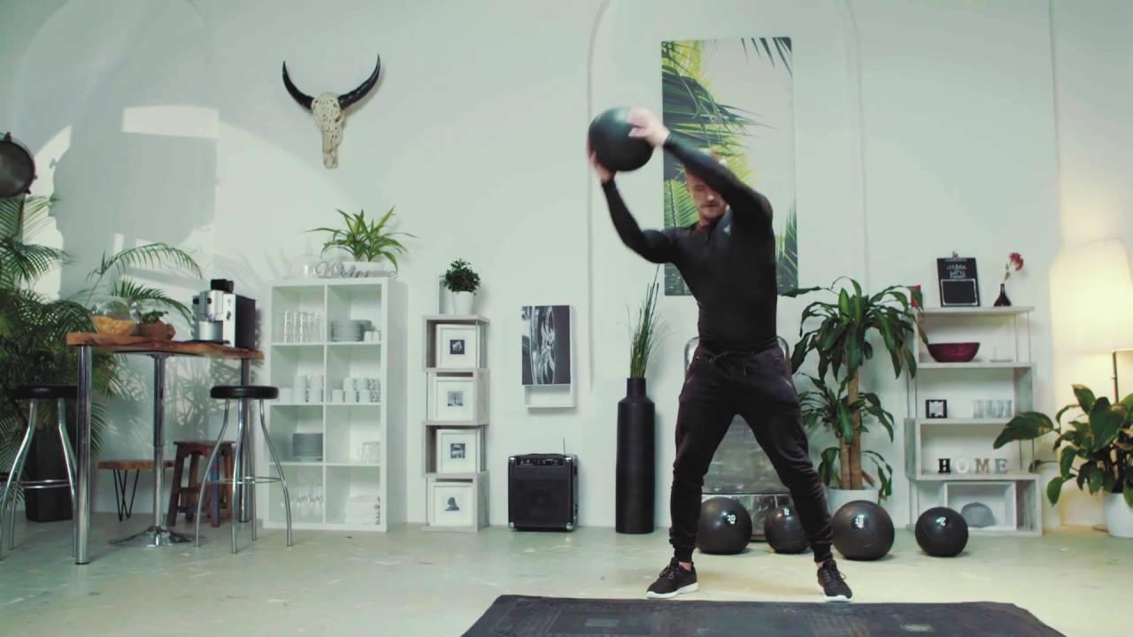 Gorilla Sports Slam Ball Caoutchouc - YouTube 2509e3ca1d29