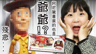 Zaini阿尼驚喜蛋玩具總動員也出現老胡迪!?[NyoNyoTV ]