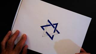 How to Draw Step by Step a Six-Pointed Star l The Star of David - Drawing for Kids