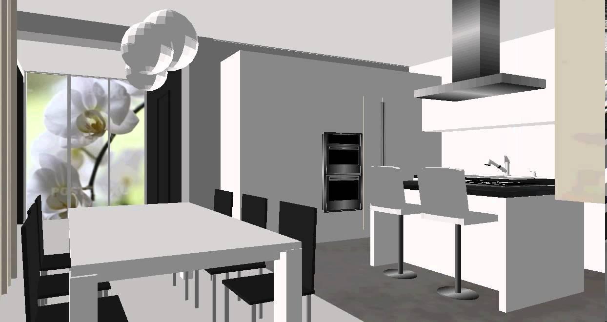 agencer une maison contemporaine - YouTube