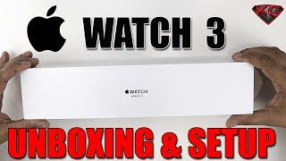 Apple Watch Series 3 Unboxing & Setup! | Switched From Android to iOS