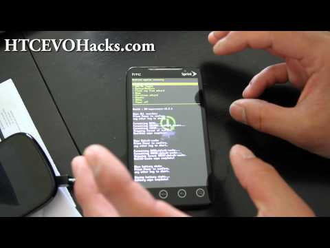 How to Install new ROM on HTC Evo 4G!